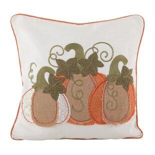 2343f959417d6 Weitzman Burlap Pumpkin Applique Design Decorative Throw Pillow
