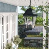 Howa 3 -Bulb 19.5'' H Outdoor Hanging Lantern