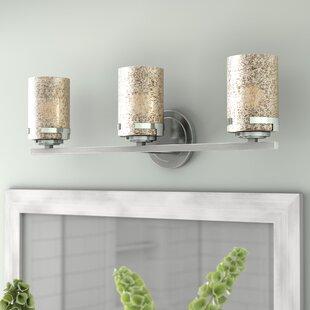 Luzerne 3-Light Mercury Shade Vanity Light by Brayden Studio