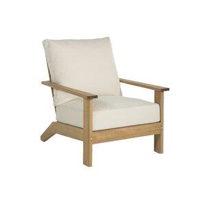 Ashland Teak Patio Chair w..