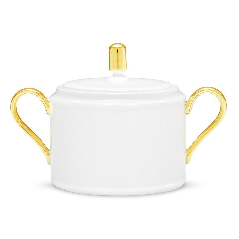 Noritake Accompanist 11 5 Oz Sugar Bowl With Lid Wayfair