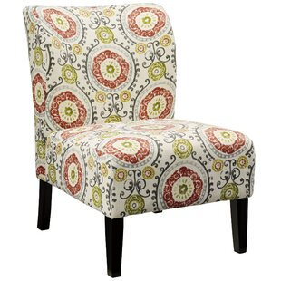 Mistana Fontanne Floral Slipper Chair