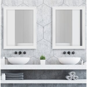 Perin Framed Decorative Rectangle Accent Mirror