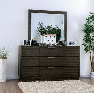 Carsten 9 Drawer Dresser with Mirror