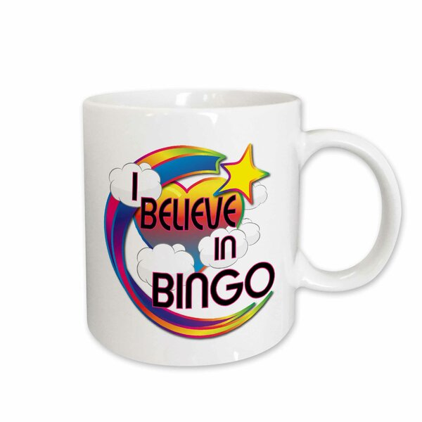 East Urban Home I Believe In Bingo Coffee Mug Wayfair