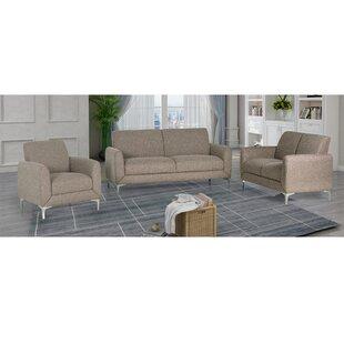 Geis 3 Piece Living Room Set by Orren Ellis