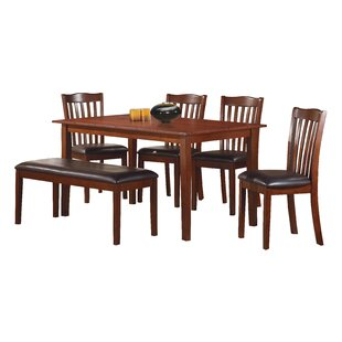 Evangeline 6 Piece Dining Set by Darby Ho..
