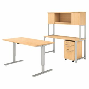 400 Series 4 Piece Desk Office Suite by Bush Business Furniture Bargain
