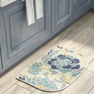Incroyable Thorson Power Flower Printed Slice Kitchen Mat