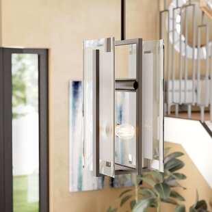 Frances 2-Light Square/Rectangle Pendant by Wade Logan