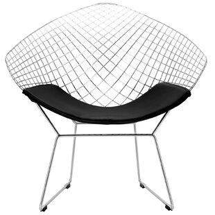 Makris Papasan Chair by Ivy Bronx
