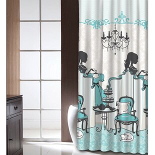 Find Cherene Tea Time Shower Curtain By Latitude Run