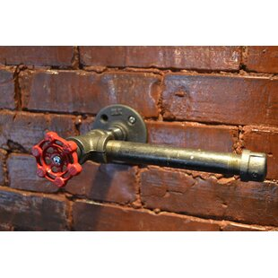 Affordable Industrial Wall Mounted Toilet Paper Holder ByWest Ninth Vintage