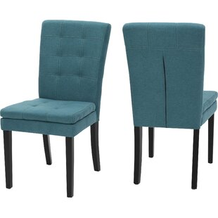 Cribb Fabric Upholstered Side Chair (Set of 2)