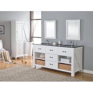 Xtraordinary Spa 71 Double Bathroom Vanity Set by Direct Vanity Sink