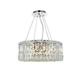 Langer 12-Light Crystal Chandelier by Hou..