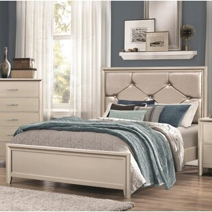 Cirillo Upholstered Panel Bed by House of Hampton