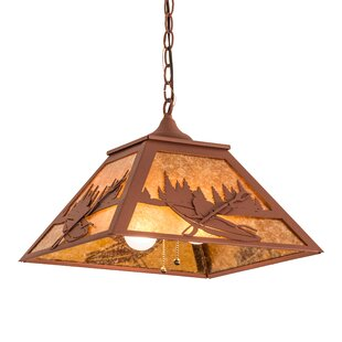 Millwood Pines Falnaglass 2-Light Novelty Pendant