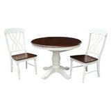 Lewis 3 Piece Dining Set by August Grove®