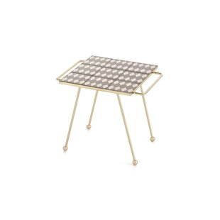Mix & Match Brass End Table by Gandia Blasco