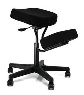 Solace Plus Height Adjustable Kneeling Chair by Jobri