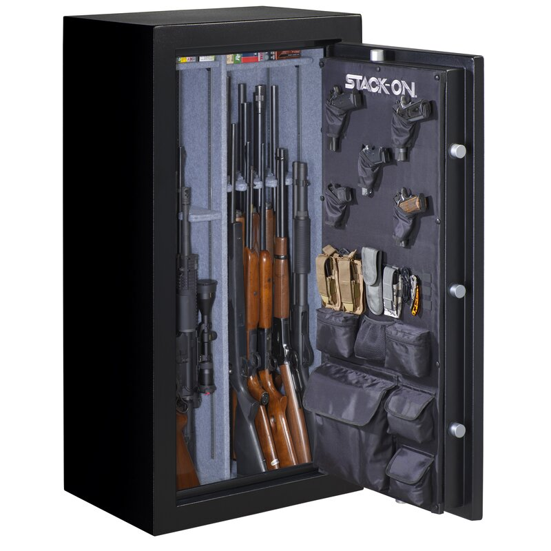 New Stack-On Small Fabric Organizer for Long-Gun Cabinet Gun Safe Free Ship