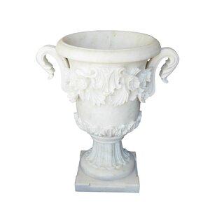 blue white urns statues you ll love wayfair