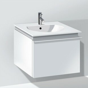 Darling New 20 Wall-Mounted Single Bathroom Vanity By Duravit