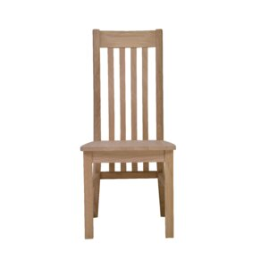 Deguzman Solid Wood Dining Chair (Set Of 2) By Natur Pur