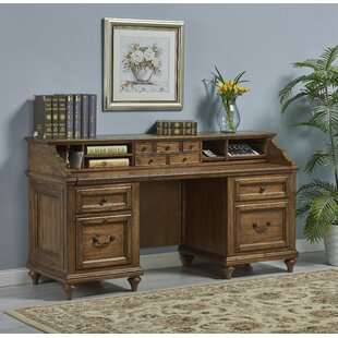Avignon Executive Desk with Hutch