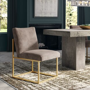 Chaffee Upholstered Dining Chair by Greyleigh