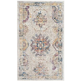Find for Gardner Light Gray Area Rug By Bungalow Rose