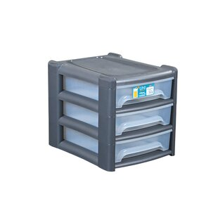 Shallow 3 Drawer Unit By Symple Stuff