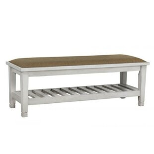 Highland Dunes Catarina Wood Storage Bench