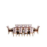 Ana 9 Piece Removable Leaf Solid Wood Dining Set by Astoria Grand