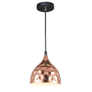 Bloomsbury Market Ohlson 1-Light Dome Pendant