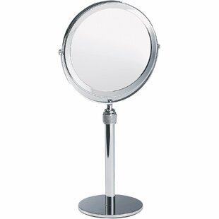 Shop For Maier Height Adjustable Makeup/Shaving Mirror ByLatitude Run
