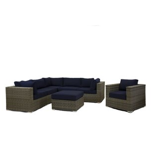 Breakwater Bay Greendale 7 Piece Sectional Set with Cushions