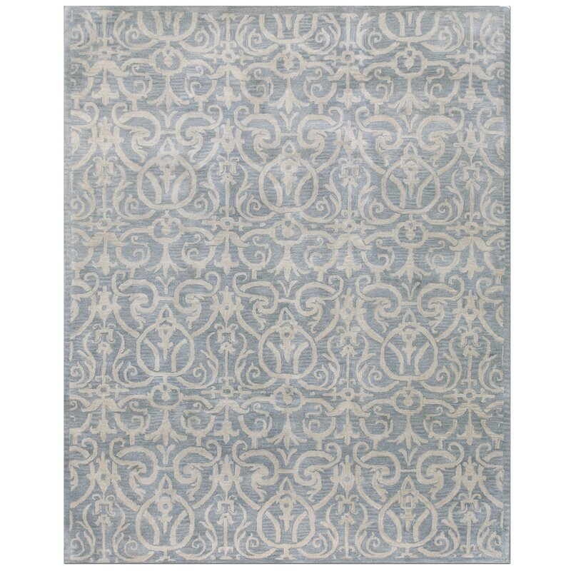 default_name - Bashian Rugs Rajput Light Blue Archaic Area Rug & Reviews Wayfair