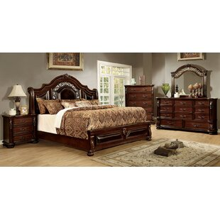 Claudia California King Sleigh Configurable Bedroom Set by Astoria Grand