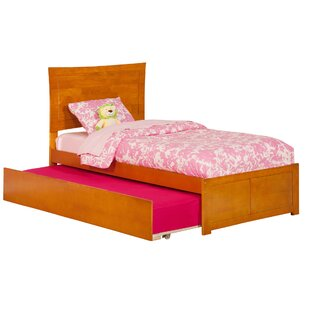 Amy Twin Platform Bed with Trundle