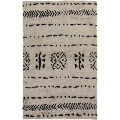 Mistana Sarvis Ivory Area Rug Rug Size: Rectangle 2' x 3'