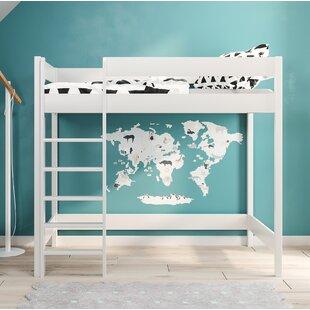 Free S&H Shepard High Sleeper Bed