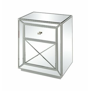 Finkle End Table with Storage by House of Hampton