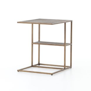 Altus Creek Shagreen End Table by Bungalow Rose