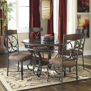 Carrick 5 Piece Dining Set by Winston Porter Discountt