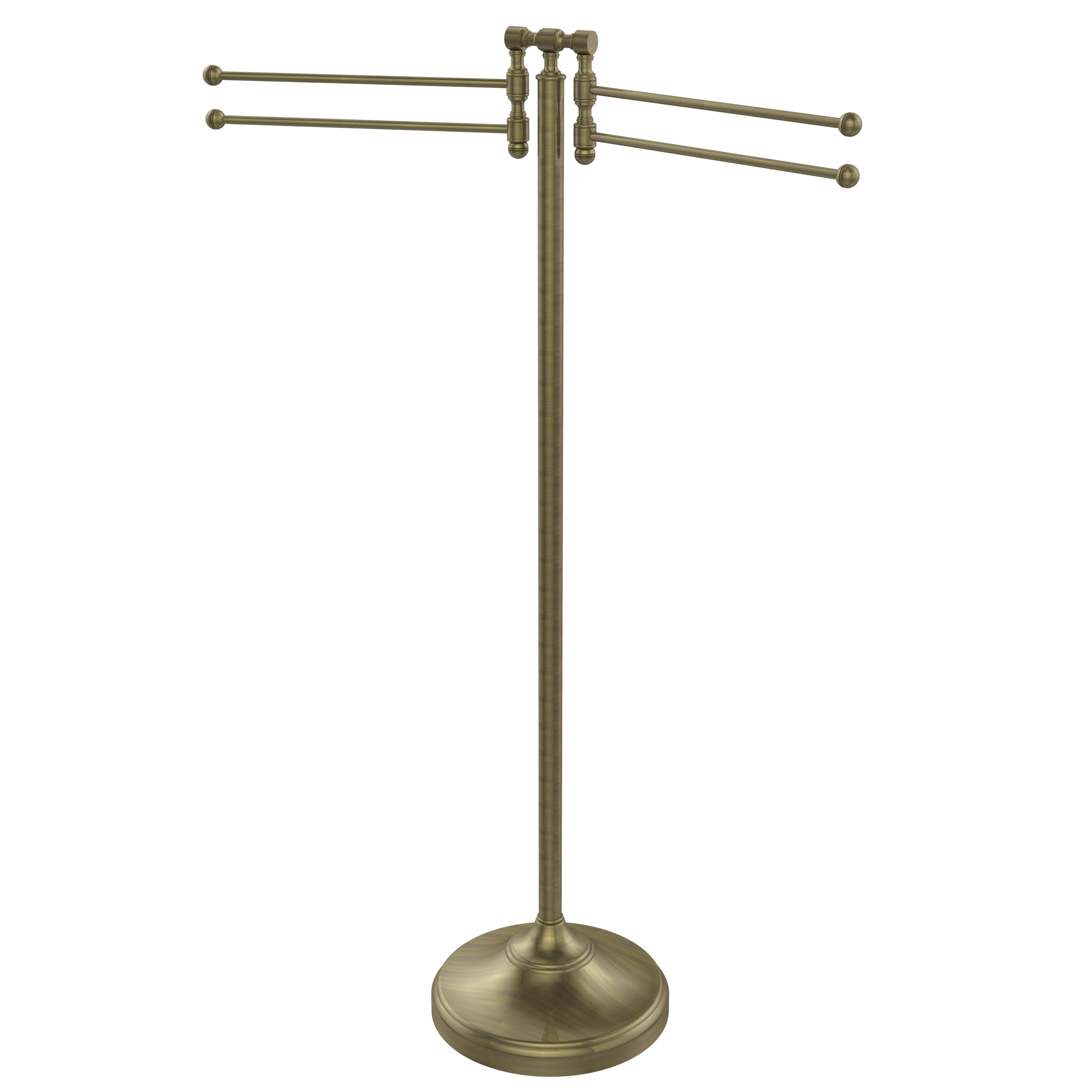 Free Standing Unlacquered Brass Towel Bars Racks And Stands You Ll Love In 2021 Wayfair
