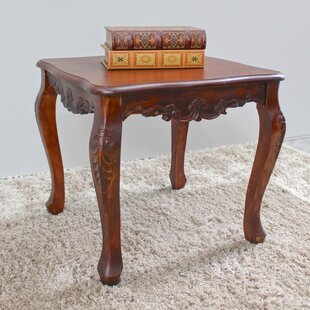 Bargain Barron Hand Carved End Table by Astoria Grand Reviews (2019) & Buyer's Guide
