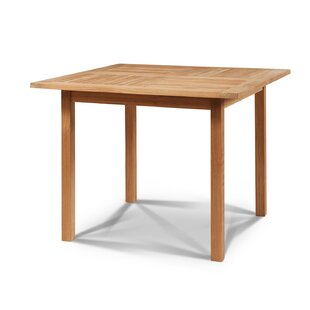 Kaplan Solid Wood Dining Table by Rosecliff Heights