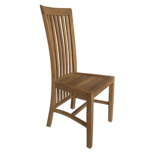 Hendry Solid Wood Dining Chair Highland Dunes